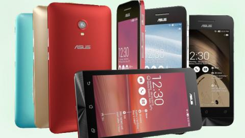 Nuevos móviles en CES 2014: Asus ZenFone 4, 5 y 6