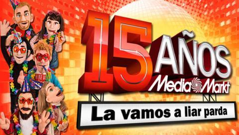 Media Markt 15 aniversario