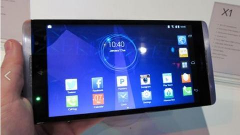 Hisense X1, el smartphone tamaño tablet, con pantalla de 6,8 pulgadas