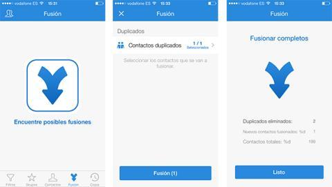 contactos duplicados iphone