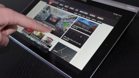 Lenovo Yoga Tablet tactil