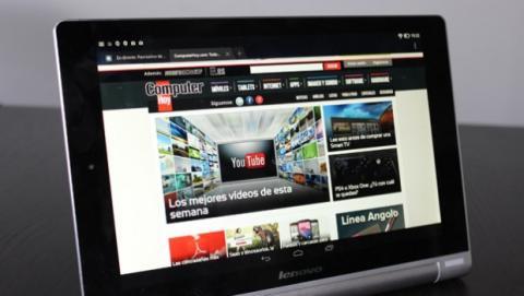 Lenovo Yoga Tablet frontal