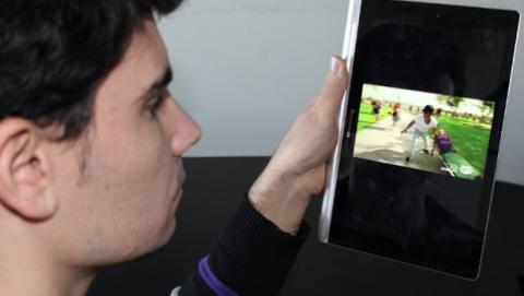 Lenovo yoga tablet agarre