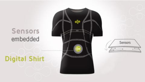 CES 2014: Camiseta inteligente sabe cuando estás cansado o enfermo