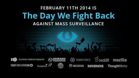 Internet organizará una protesta contra el espionaje