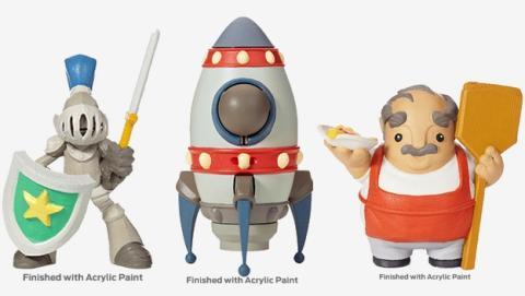 MakerBot Digital Store, compra diseños de juguetes imprimibles en 3D