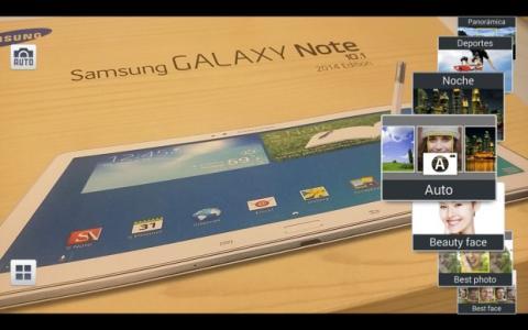 Modos Samsung Galaxy Note 10.1