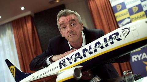 Michael O Leary, presidente de Ryanair