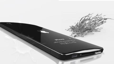 iPhone 6 o iPhone Air, pero con metal líquido