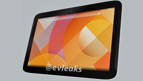 Supuesta imagen próxima Nexus 10, blanco