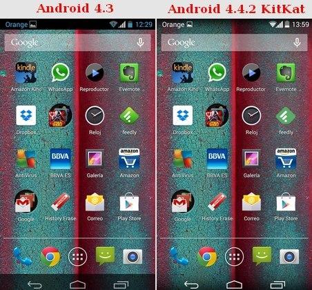 Android 4.4.2 KitKat en Moto G