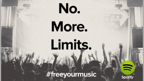 Spotify, gratis y sin límites también en la versión web
