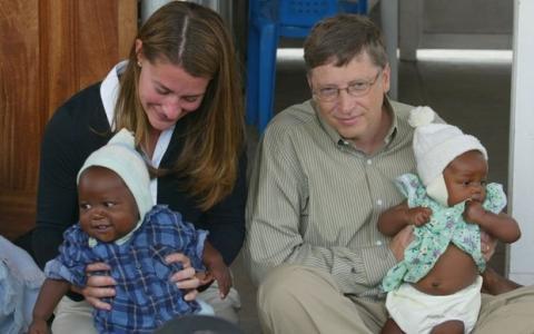 Bill Gates salva millones de vidas. Foto: Reuters