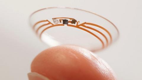 Google anuncia las lentes de contacto inteligentes, para diabéticos. Miden la glucosa.