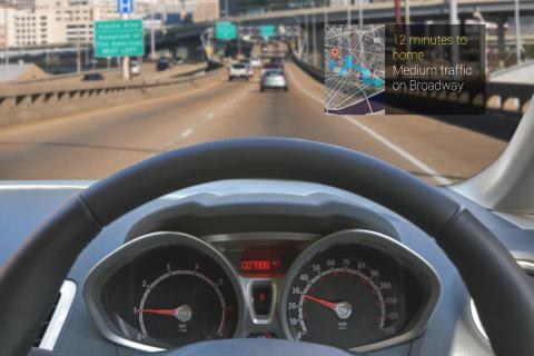 Google Glass para conducir