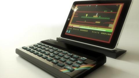 El mítico ordenador Sinclair ZX Spectrum vuelve en forma de teclado Bluetooth para tablets, smartphone, PC y Mac. Compatible con emuladores.