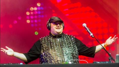 Kim Dotcom estrena el servicio de música en streaming Baboom, competencia de Spotify