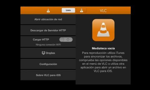 Actualización VLC iOS 7, Dropbox Google y Drive