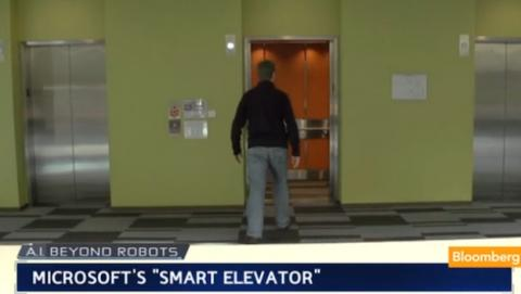 Equipo de investigación de Microsoft desarrolla elevadores inteligentes