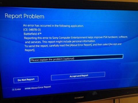 Partidas corruptas PS4