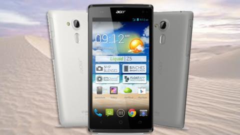 Acer presenta el smartphone Liquid Z5