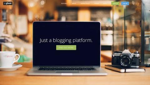 Crea tu blog con Ghost, ¿el nuevo WordPress?