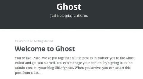 Post de prueba de Ghost