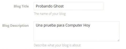 Probando Ghost para Computer Hoy ;-)