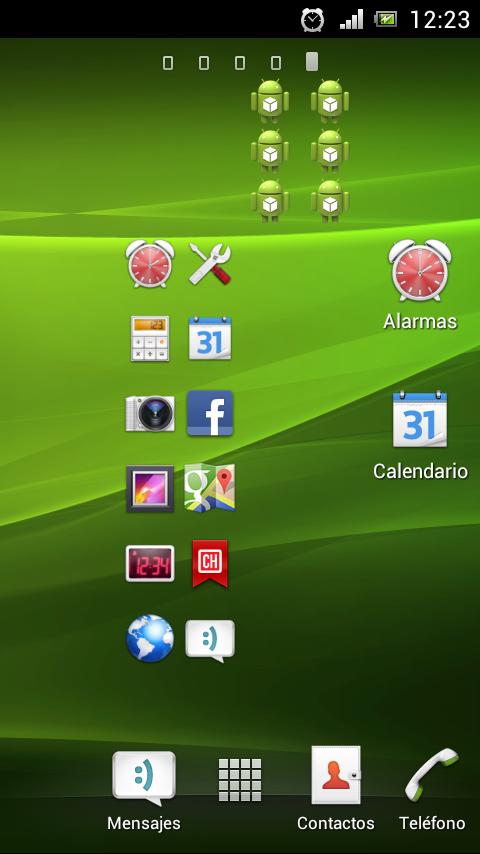 Varios widgets
