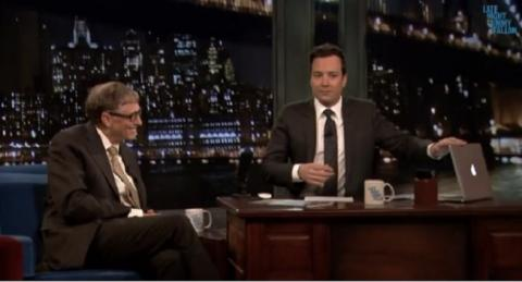 Bill Gates entrevista MacBook