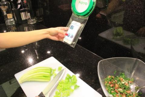 hoyo kickstarter móvil protección agua