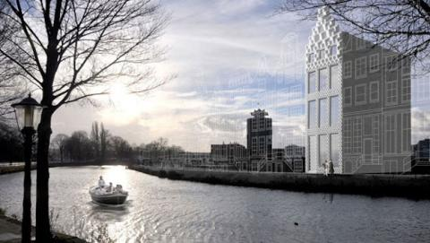 Holanda construye casa impresa en 3D
