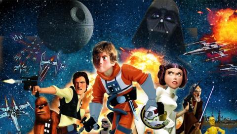 Primeros rumores sobre una adaptación Pixar de las películas de Star Wars