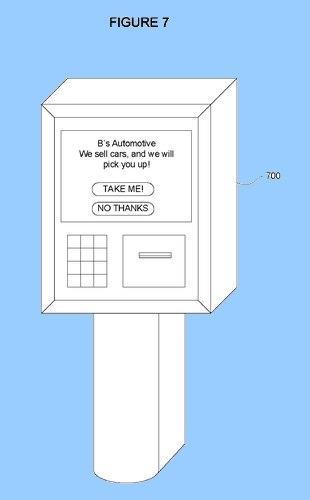 Patente de Google transporte gratis coche Google