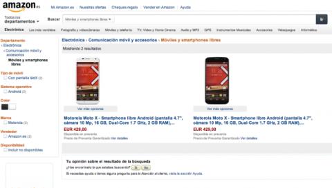 Motorola Moto X ya en España
