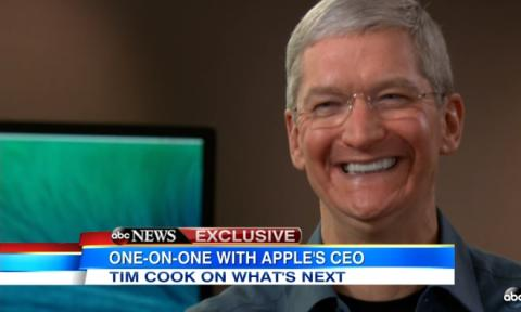 Apple Macintosh Tim Cook