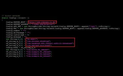 Malware Windows para Android
