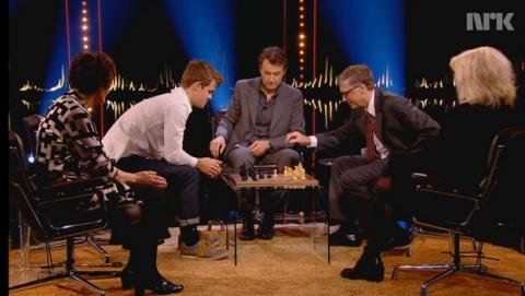 Cómo derrotar a Bill Gates en doce segundos... en una partida de ajedrez