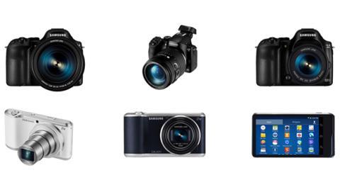 NX30 y Galaxy Camera 2