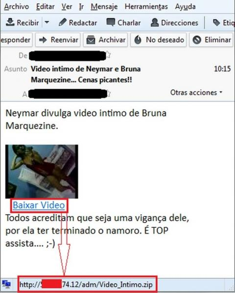 Vídeo novia de Neymar con Troyano