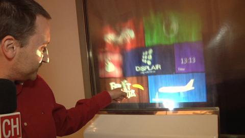 Displair, la pantalla que proyecta imágenes en el aire