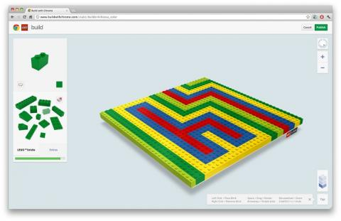 "Google Chrome LEGO app web ""The LEGO Movie"""