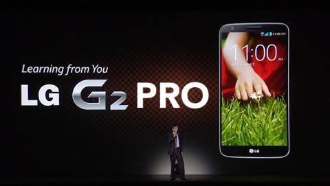 lg g2 presentación