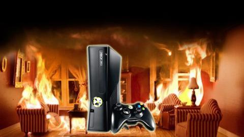 Hombre salva su Xbox de las llamas