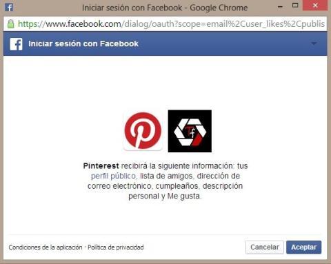 Privacidad FB