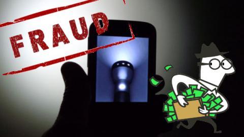 Malware disfrazado de app de linterna para Android