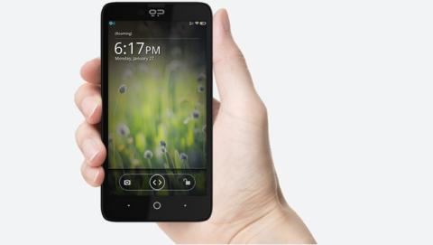 Fotos y características del smartphone Geeksphone Revolution, con Android y Firefox OS