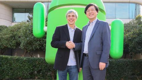 Lenovo compra Motorola a Google por 2.910 mill. de dólares