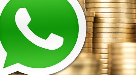 cómo pagar Whatsapp paso a paso
