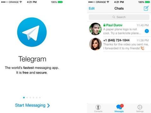 escasez de usuarios en Telegram